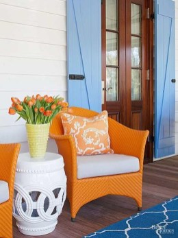 Beautiful And Colorful Porch Design37