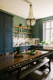 Beautiful And Cozy Green Kitchen Ideas05