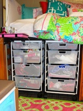 Efficient Dorm Room Organization Ideas27