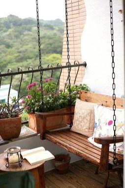 Elegant And Cozy Balcony Ideas26