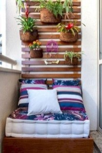 Elegant And Cozy Balcony Ideas48