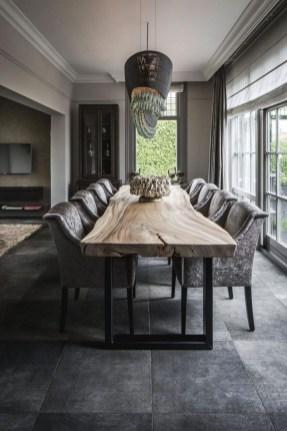 Elegant And Cozy Diningroom Design Ideas27
