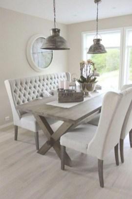 Elegant And Cozy Diningroom Design Ideas34