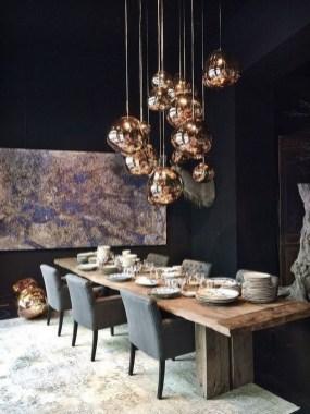 Elegant And Cozy Diningroom Design Ideas43