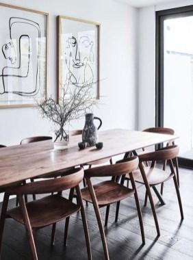 Elegant And Cozy Diningroom Design Ideas45