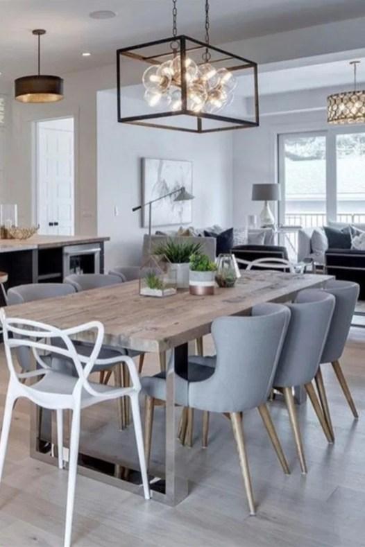 Elegant And Cozy Diningroom Design Ideas47