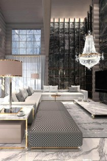Extraordinary Luxury Living Room Ideas Which Abound With Glamour And Refinement12