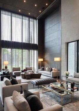 Extraordinary Luxury Living Room Ideas Which Abound With Glamour And Refinement16