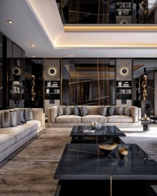 Extraordinary Luxury Living Room Ideas Which Abound With Glamour And Refinement21