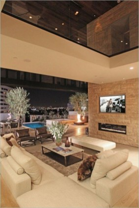 Extraordinary Luxury Living Room Ideas Which Abound With Glamour And Refinement34