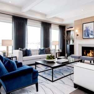 Luxury And Elegant Living Room Design32