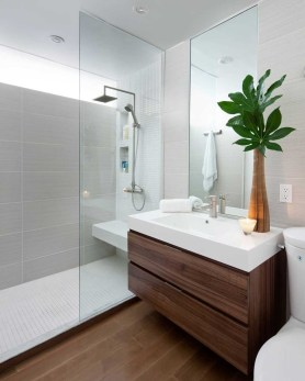 Minimalist Modern Bathroom Designs For Your Home24