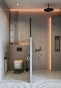 Minimalist Modern Bathroom Designs For Your Home28