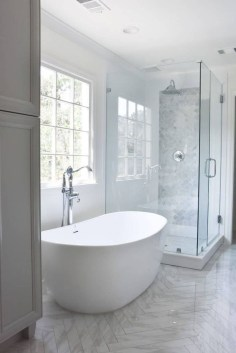 Minimalist Modern Bathroom Designs For Your Home40