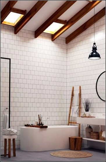 Minimalist Modern Bathroom Designs For Your Home44