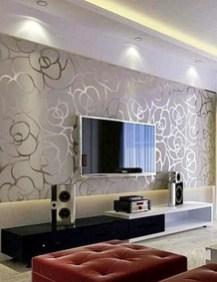 Modern Wallpaper Decoration For Living Room Ideas12