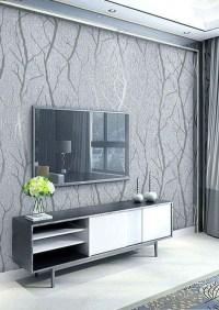 Modern Wallpaper Decoration For Living Room Ideas13