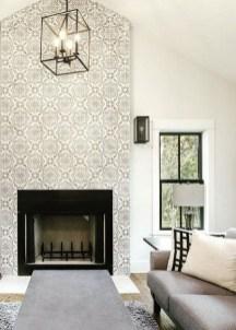 Modern Wallpaper Decoration For Living Room Ideas30
