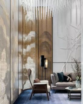 Modern Wallpaper Decoration For Living Room Ideas34