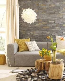 Modern Wallpaper Decoration For Living Room Ideas35