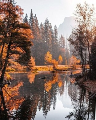Soothing Autumn Landscape Ideas For This Season34