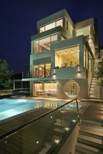 Superb Contemporary Houses Designs Surrounded By Picturesque Nature38