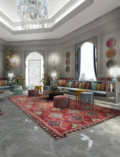 Awesome Arabian Living Room Ideas10