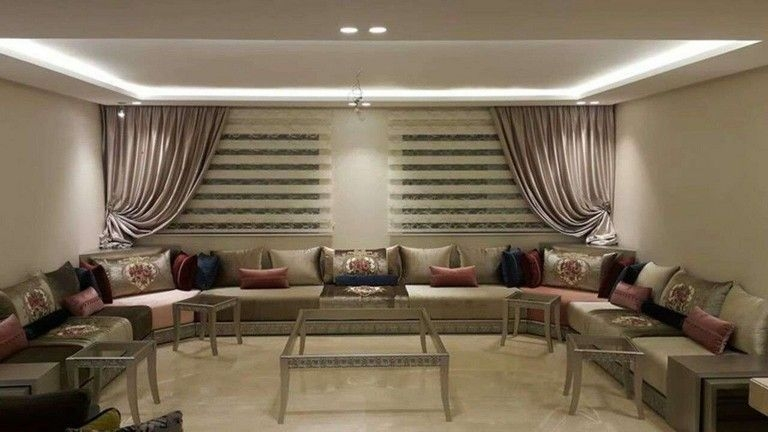 Awesome Arabian Living Room Ideas35