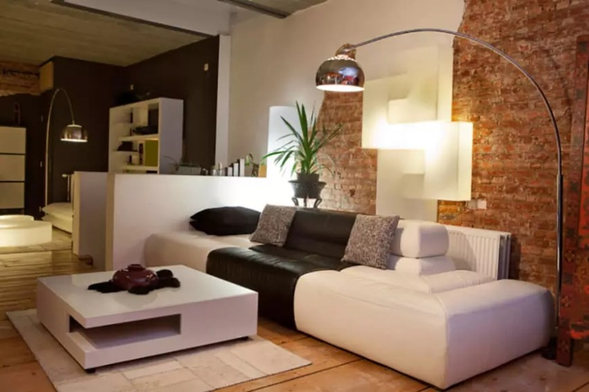 Awesome Brick Expose For Living Room09