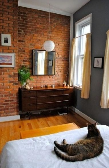 Awesome Brick Expose For Living Room15