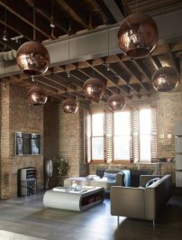Awesome Brick Expose For Living Room16