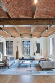 Awesome Brick Expose For Living Room18