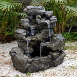 Awesome Garden Waterfall Ideas05