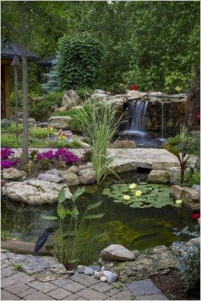 Awesome Garden Waterfall Ideas19