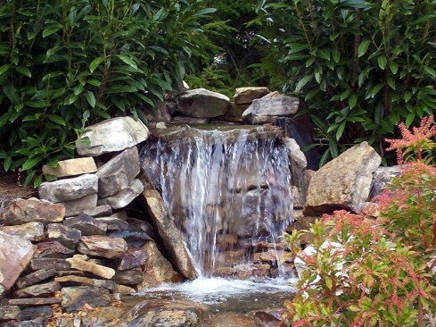 Awesome Garden Waterfall Ideas29