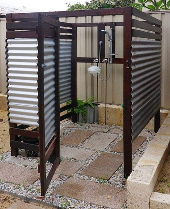 Awesome Outdoor Bathroom Ideas41