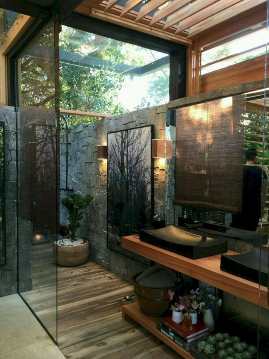 Awesome Outdoor Bathroom Ideas42
