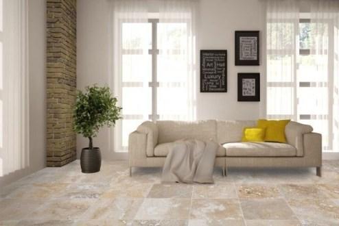 Elegant Granite Floor For Living Room29