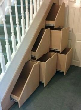 Extraordinary Stairs Storage Ideas20