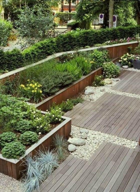 Fresh Ideas Frontyard Garden17