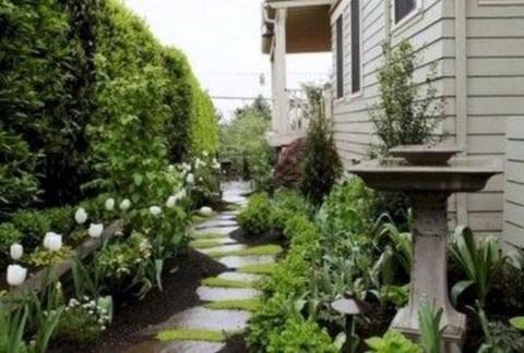 Fresh Ideas Frontyard Garden22