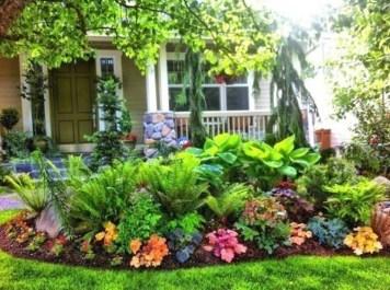 Fresh Ideas Frontyard Garden34