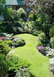 Fresh Ideas Frontyard Garden36