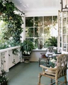 Cozy And Beautiful Green Balcony Ideas01