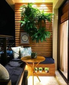 Cozy And Beautiful Green Balcony Ideas28
