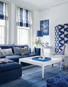 Cozy And Luxury Blue Living Room Ideas21
