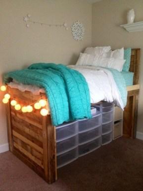 Efficient Dorm Room Organization Ideas35