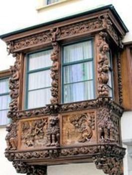 Elegant Carved Wood Window Ideas08