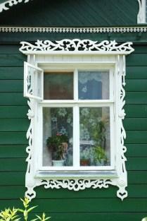 Elegant Carved Wood Window Ideas12