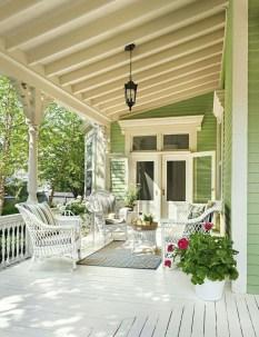 Luxury And Elegant Porch Design41